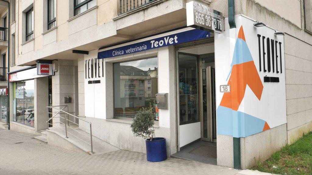 clinica Veterinaria Teovet - Fachada